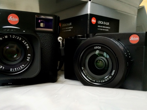 The Leica M and D-Lux