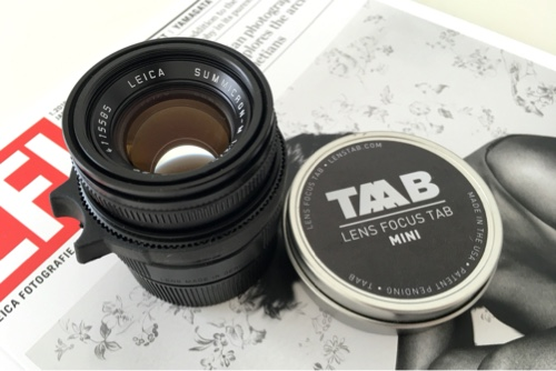 TAAB and the Summicron-M 50 mm f/2.0