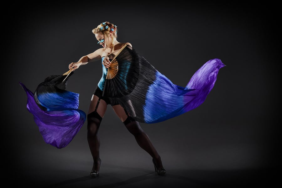 Dance burlesque cabaret photography by Sharon Blance Melbourne photographer