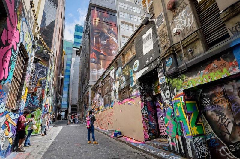 Hosier Lane, Melbourne advertising photography by Image Workshop