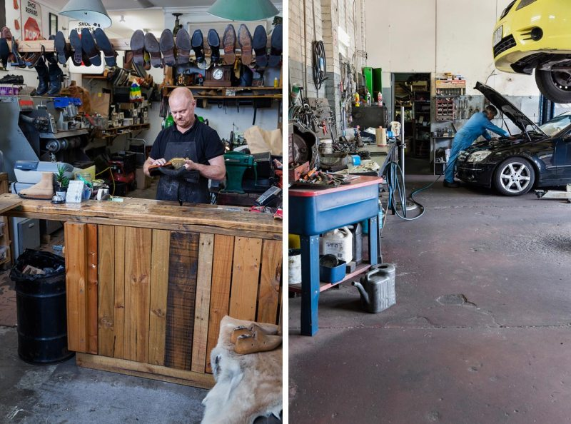 Small business photography shot for an Annual Report by Melbourne photographers Sharon Blance and Brence Coghill