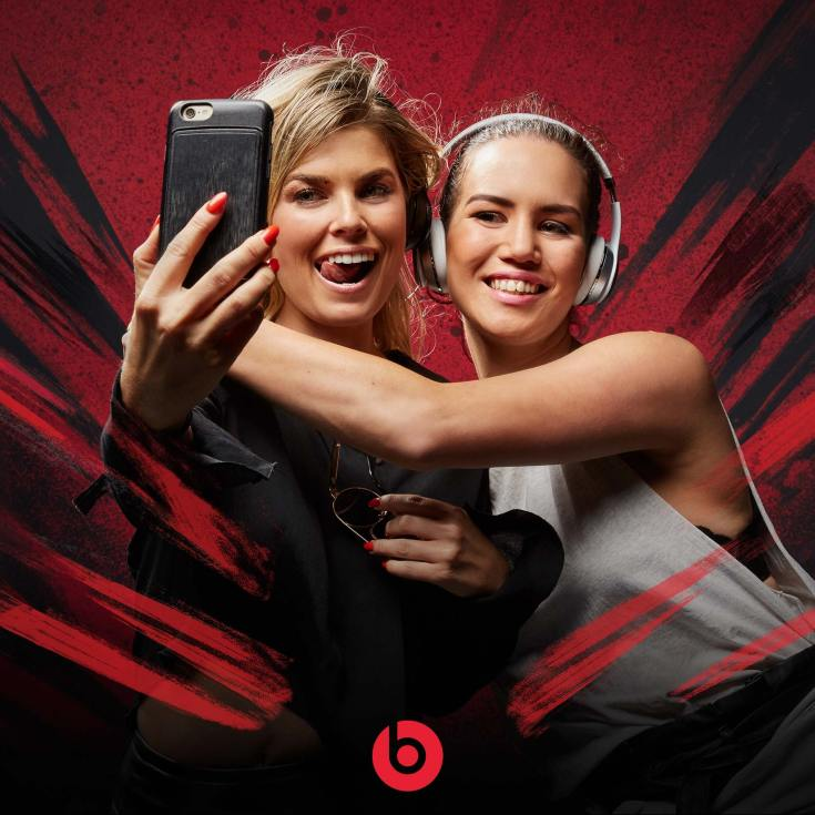 Brand activation photoshoot event for Beats headphones - star in your own Beats campaign-style image