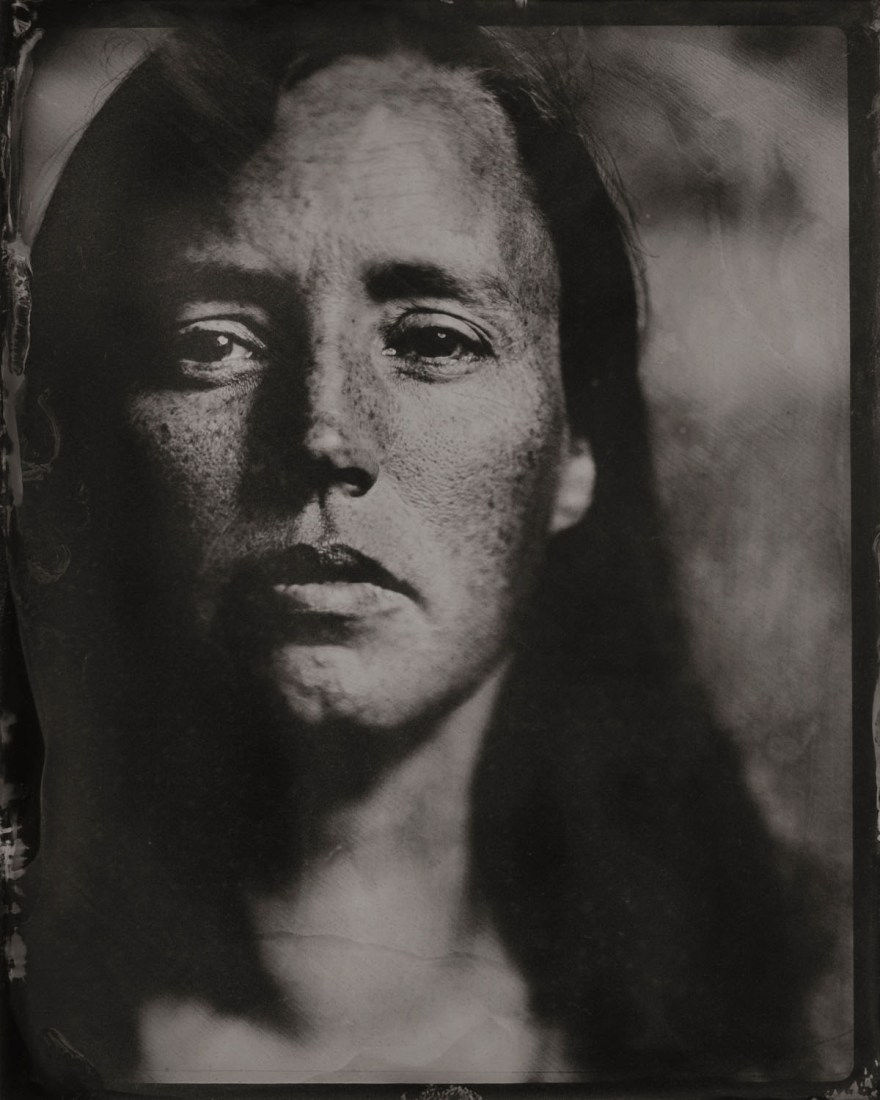 Wet Plate Collodion (Tintype) Portrait by Melbourne photographer Brence Coghill