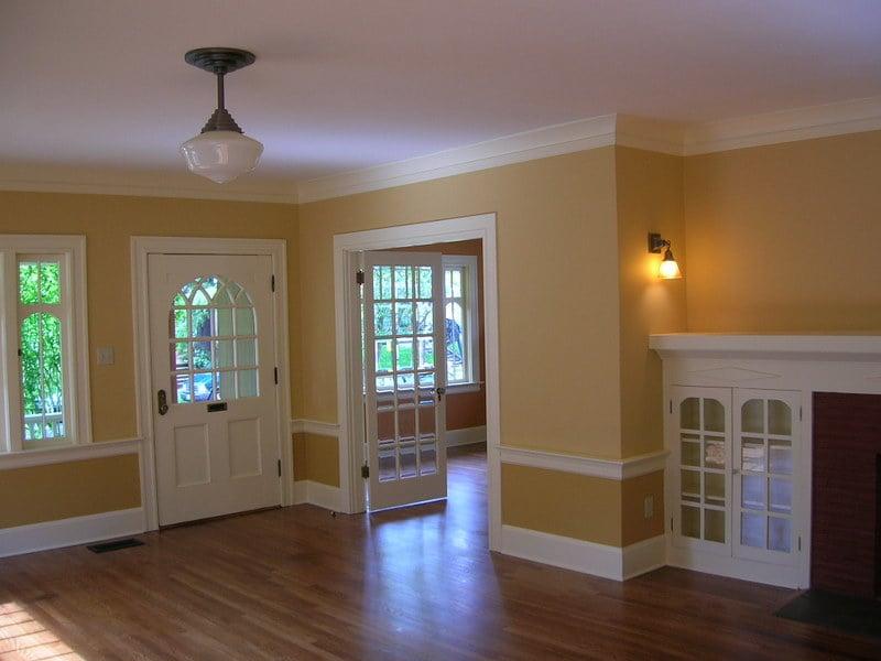 Warna Cat Interior Rumah Hijau Tosca