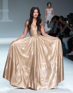 Anet wearing Malan Breton StyleFWNY