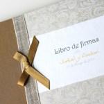 Inauguramos nueva sección… Libros de firmas para bodas