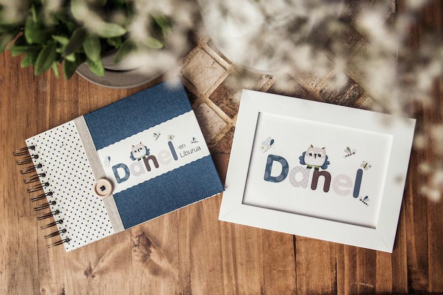 libro nacimiento lámina nombre ilustración bebés donostia gipuzkoa