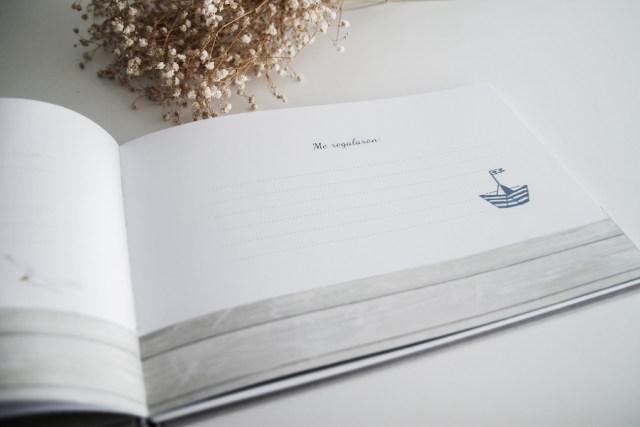libro firmas niño comunion donosti gipuzkoa