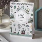 Calendario ilustrado 2016…. La vie à Paris