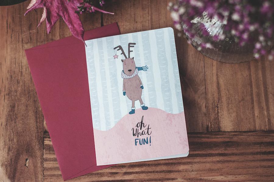 navidad-christmas-postales-tarjetas-ilustración-donostia-gipuzkoa jingle bells