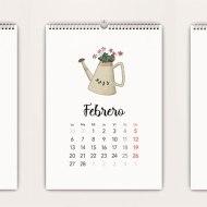 Calendario 2017 Garden
