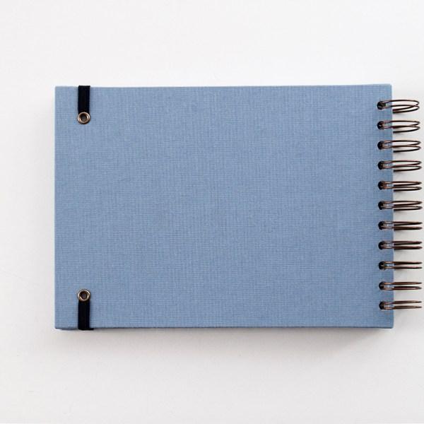 libro de nacimiento azul trasera