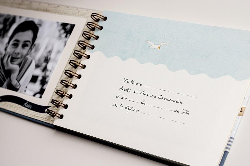 libro de firmas comunión