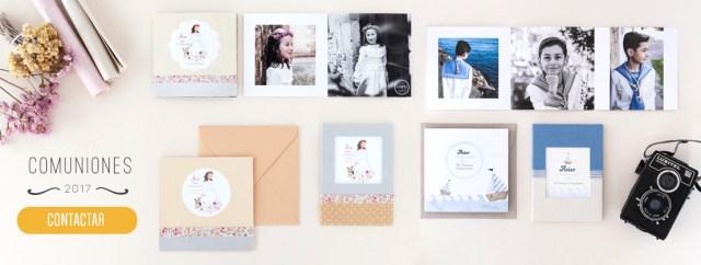 comuniones redordatorios tarjetas portafotos albums libros de firmas donostia gipuzkoa