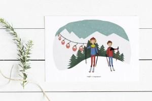 Hay una ilustración para cada momento, ¿Cúal es el tuyo? | Ilustraciones personalizadas, ideas para regalar.