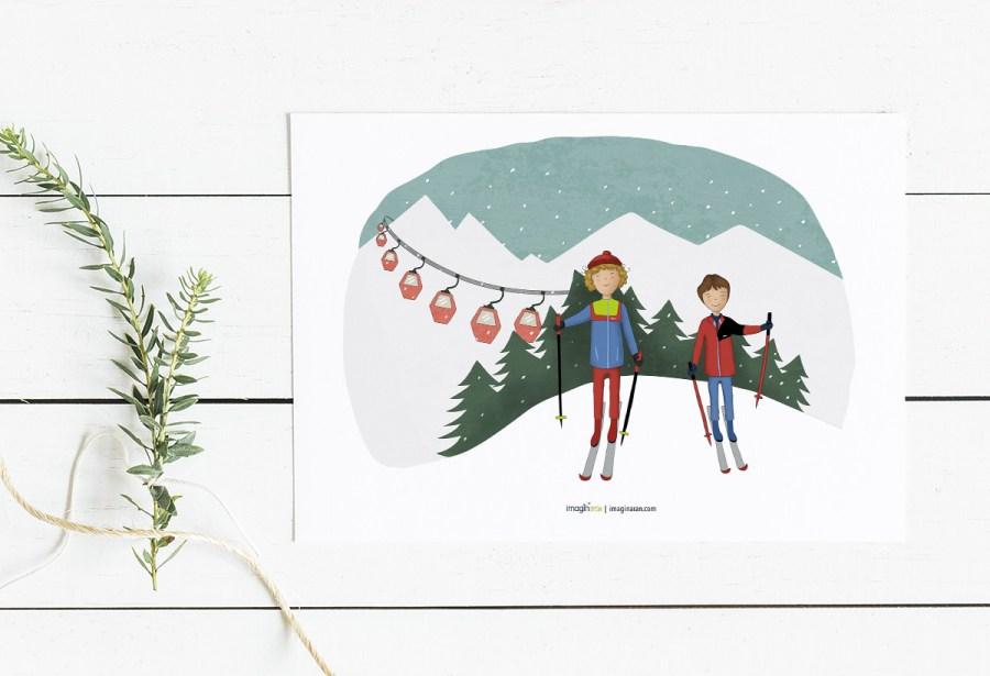 ilustraciones y dibujos personzados para amigos y familiares