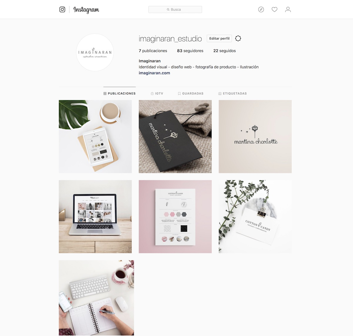 Sígueme en instagram, imaginaran_estudio