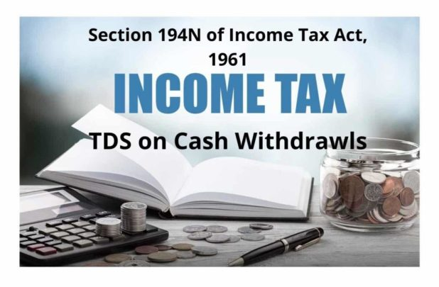 TDS on Cash Withdrawls