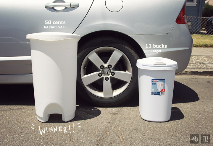 Diy Miniature Trash Cans Imaginary Zebra