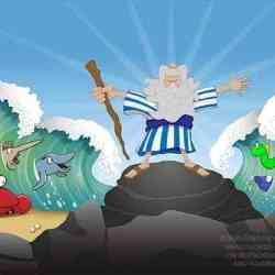 Moses Mural 10x25