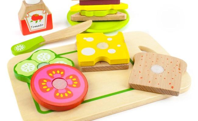 Wood Eats Super Sandwich Set Teat 005 Imagination