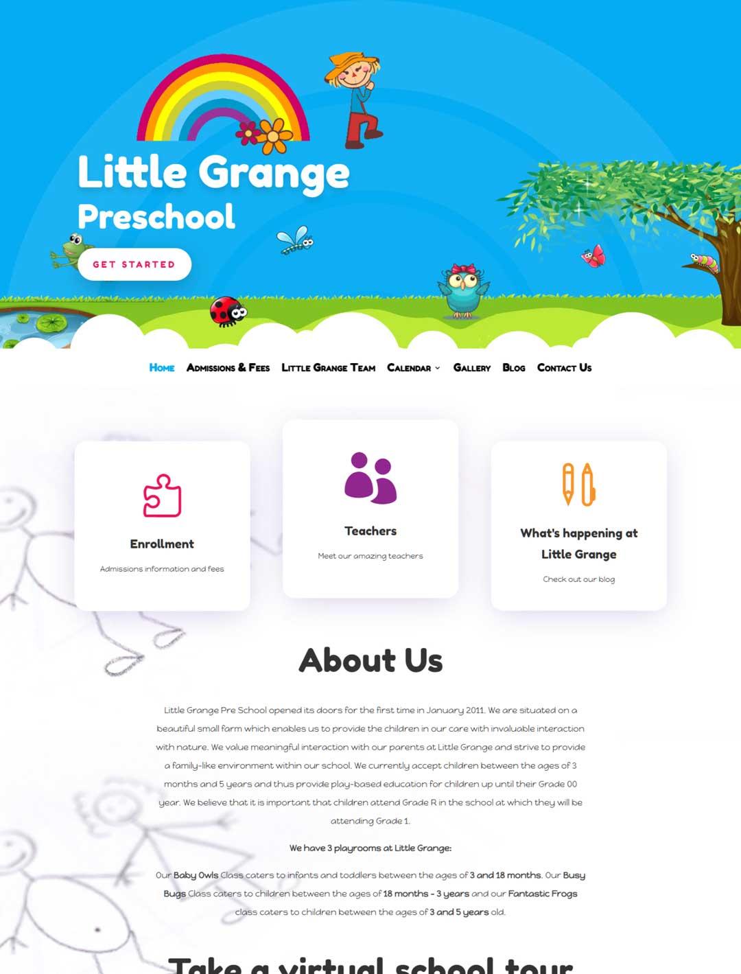 Little Grange site