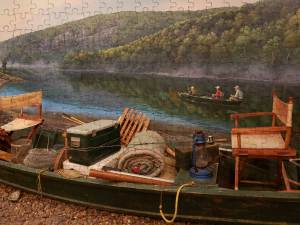 Mo Outdoors Canoe Puzzle