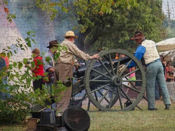Civil War Reenactment Puzzle