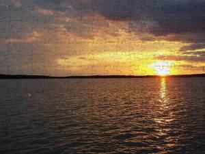 Mark Twain Lake Rough Water
