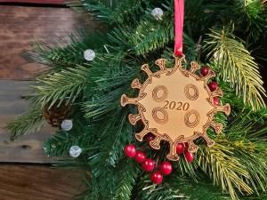 Corona Christmas Ornament