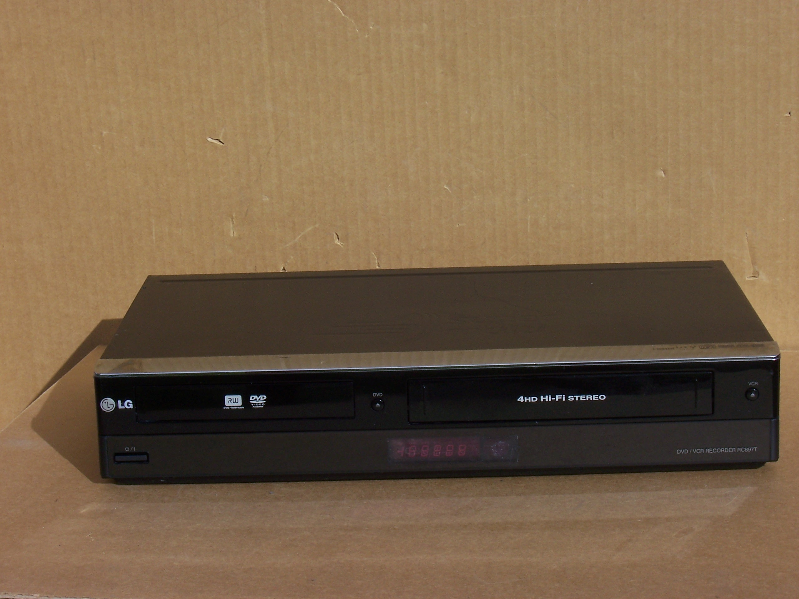 LG RC897T Super Multi DVD-Recorder VCR Combo With Digital