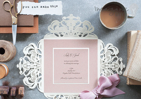 Jaipur cream invitation imagine diy diy laser cuts luxury diy wedding invitation to make yourself diy wedding invitation blank laser cut wedding solutioingenieria Gallery