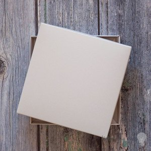 square white card box. Greetings card box in pearlised white. Blank postage boxes for wedding invitations