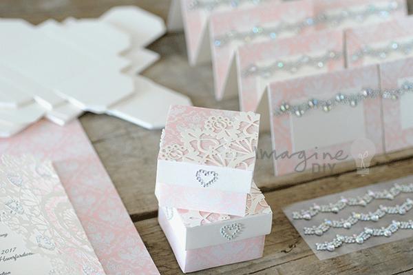 Wedding Invite Ideas Make Your Own: How To Make- Arabesque Laser Cut Invitation