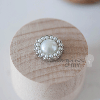 Naomi Bright | part of our Pearl Embellishments range of DIY wedding stationery and craft supplies | Imagine DIY