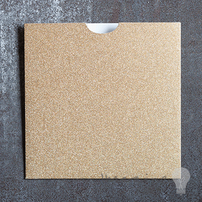Square glitter wallet gold square wallet for diy wedding invitations square gold glitter wallet invitations blank pocket invitations covered in gold glitter square invitation stopboris Gallery