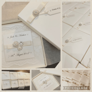 Beautiful Wedding Stationery by Kellibrations