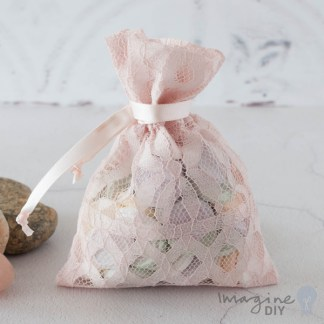 Blush Lida Favour Bag