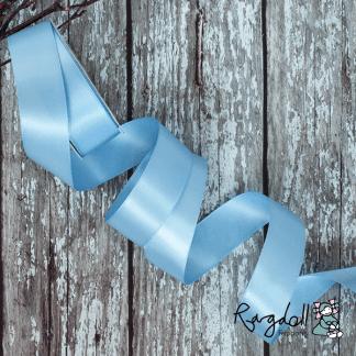 25mm Bluebird Satin Ribbon