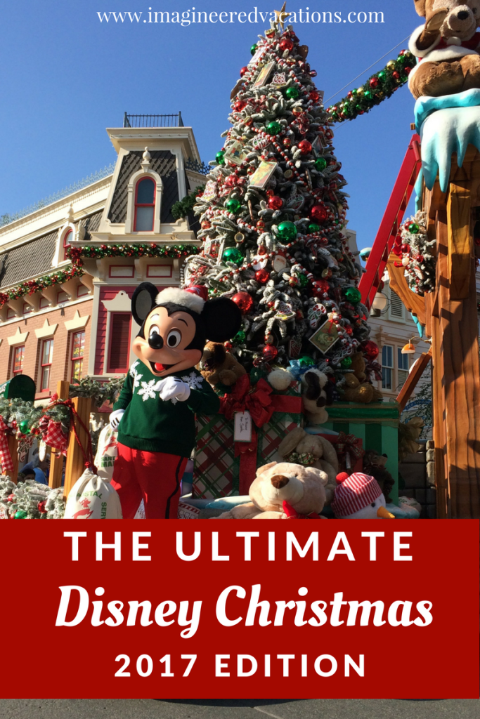 the ultimate disney christmas 2017 - Disney Christmas Decorations 2017