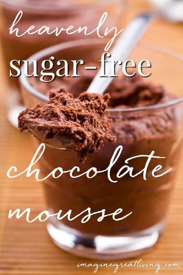 Heavenly Ricotta Chocolate Mousse (sugar free!)