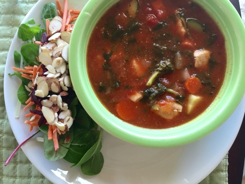 The Best Chicken Vegetable Soup