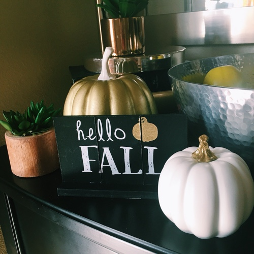 Easy Home Decor for Fall