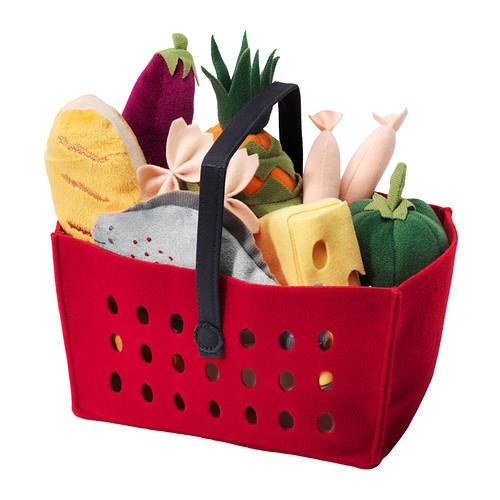 11-Piece Shopping Basket Set--Ikea