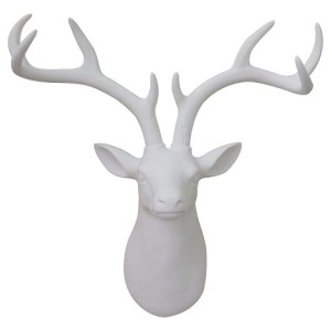 Resin Stag Head Image