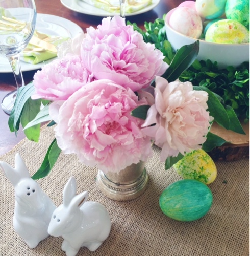 Simple Easter Table Setting Ideas