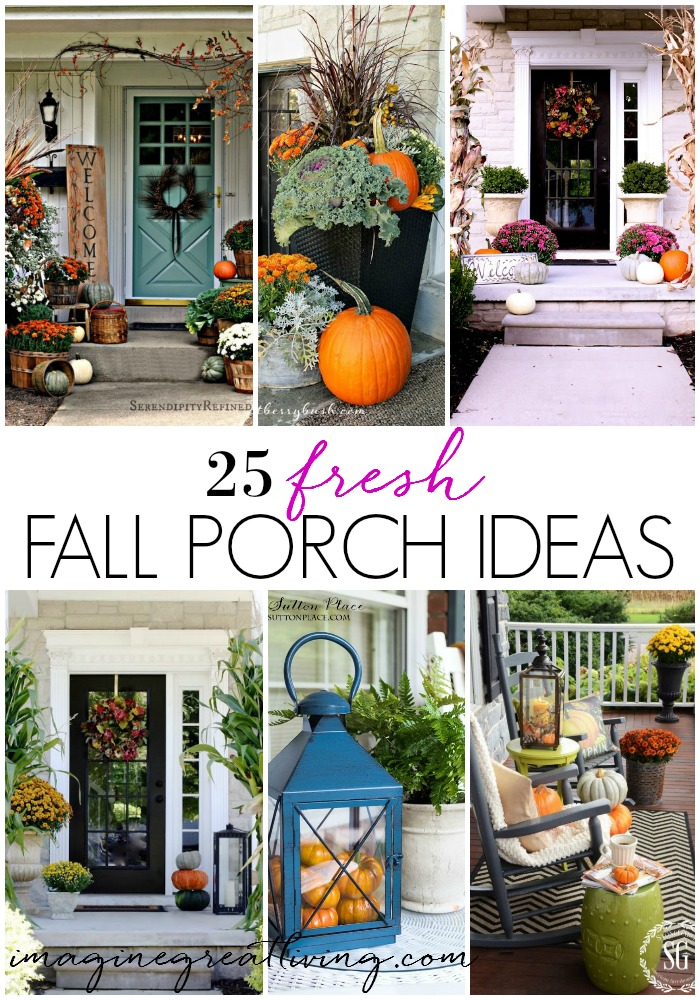 25 fresh fall porch ideas that will make your front porch decor the most beautiful on the block!