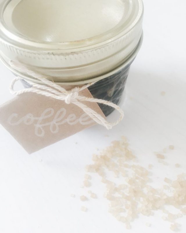 3-ingredient coffee sugar scrub for smooth, toned skin