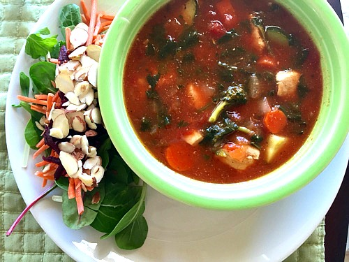 The Best Chicken Vegetable Soup with Rice