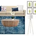Mood Board Monday - A classic-modern living room